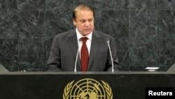 Pokiston Bosh vaziri Navoz Sharif BMT minbarida, 27-sentabr, 2013
