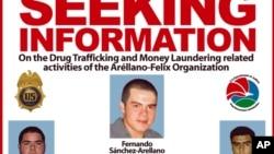 En mayo de 2013 la agencia antidrogas estadounidense DEA incluyó a Sánchez entre los seis narcotraficantes más influyentes de la región de la frontera de México con California.