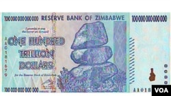 ZImbabwe's old currency