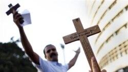 درگيری مرگبار دولت و تظاهرکنندگان مسيحی در مصر