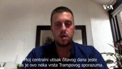 Nedeljković: Ovo je Trampov sporazum