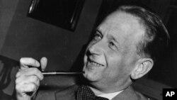 FILE - Dag Hammarskjold, pictured in May 1953.