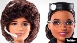 باربی های رزا پارکز و سَلی راید به مناسبت روز برابری زن در آمریکا وارد بازار شد