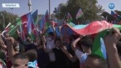 İstanbul'da Azerbaycan'a Destek Eylemi