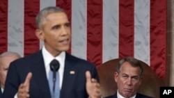 美國總統奧巴馬星期二在發表國情咨文演講時說,美國必須要製訂貿易規則,而不是由中國來製訂。