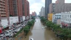 雨如决河倾 郑州陷危机