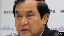 태국 푸어 타이당 대표를 지낸 자루퐁 루앙수안 전 장관. 24일 쿠데타 군부에 반대하는 정치 단체를 출범한다고 선언했다. (자료사진)