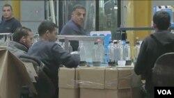 猶太人定居點馬阿萊阿杜米姆一家蘇打水製造工廠(視頻截圖)
