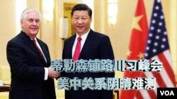 Ngoại trưởng Tillerson và Chủ tịch TQ Tập Cận Bình