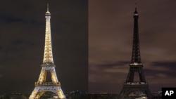 ILa tour Eiffel à ParisMarch 28, 2015.