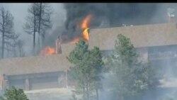 2013-06-12 美國之音視頻新聞: 科羅拉多州山林大火毀60家房屋