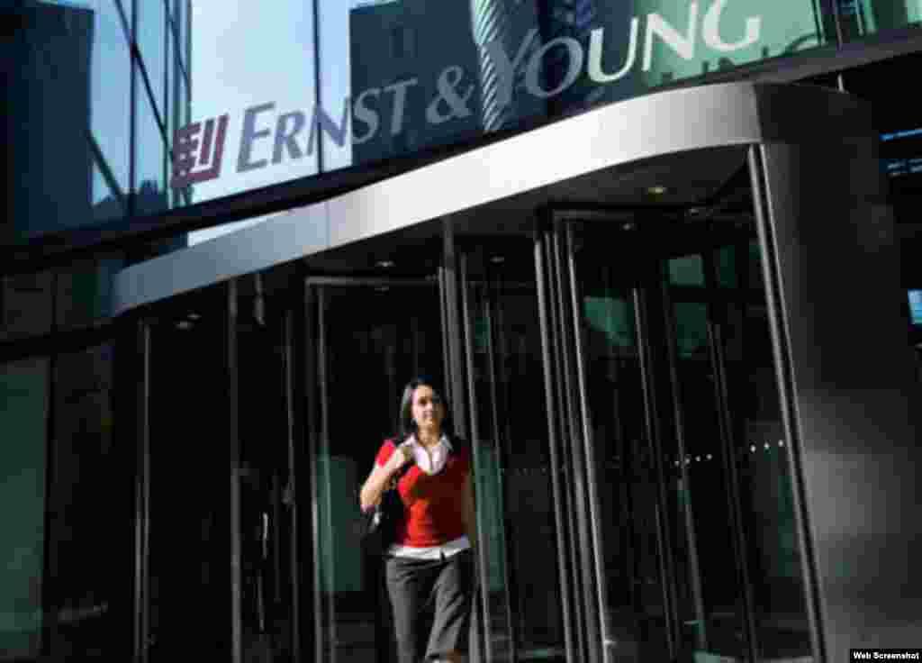 Ernst & Young 46% dos empregados são mulheres. 46% dos gerentes sénior são mulheres.