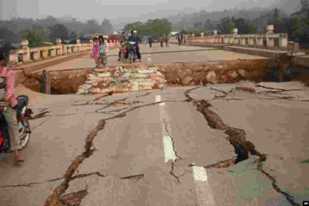 缅甸发生地震
