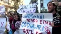 """""""Azərbaycan hakimiyyəti qadın haqlarının qorunmasına səmimi yanaşmır"""""""