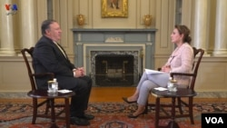US Iran Mike Pompeo exlusive interview