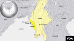 Provinsi Rakhine, Myanmar.