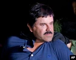 "Gembong narkoba Meksiko Joaquin ""El Chapo"" Guzman (foto: dok)."