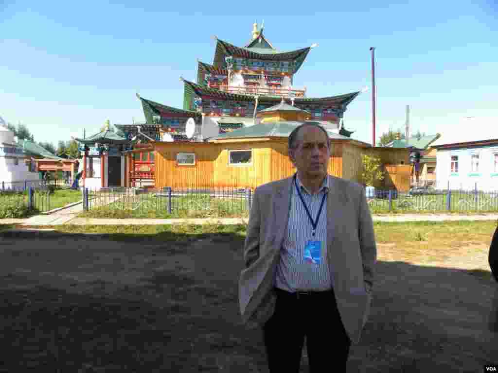 Участники конференции посетили известный Иволгинский дацан – действующий буддистский монастырь