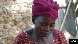 Aminata Rabo, of Burkina Faso, lost a son to chronic diarrhea and a daughter to malaria. Credit: Water Aid