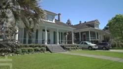 Новый Орлеан: дома на сваях и могилы над землей