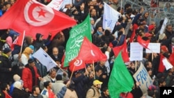 Angry Tunisians Mourn Slain Opposition Leader