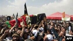 В Афганістані похоронили вбитого колишнього президента Раббані