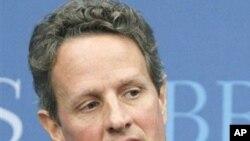ທ່ານ Timothy Geithner ລັດຖະມົນຕີກະຊວງການເງິນສະຫະລັດ