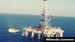 Ladang gas alam lepas pantai di Ashkelon, Israel selatan (foto: ilustrasi).