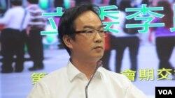 台湾执政党民进党立委李昆泽