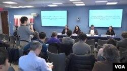 20일 미국 조지워싱턴대 국제대학원에서 '위기의 한일관계: 동아시아 화해와 안보의 전망'을 주제로 토론회가 열렸다.