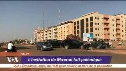 Invitation de Macron aux cinq pays du G5 Sahel