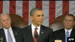Predsednik Barak Obama govori o stanju nacije u Kongresu