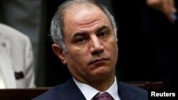 Le ministre de l'Intérieur Efkan Ala lors d'une réunion au Parlement d'Ankara le 22 juillet 2014.