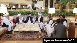 7月7日上午阿富汗會談在多哈舉行。