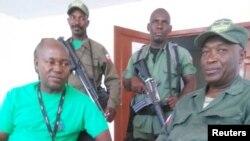 Membres de l'ancienne armée haïtienne, FADH dans le Plateau Central en Haïti. Photo Josué Joseph, 20 mars 2018.