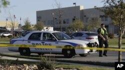 Carro da polícia do Texas (imagem de arquivo)