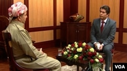 Kurdish President Massoud Barzani talks to Ali Javanmardi of VOA's Persian service, PNN in an exclusive interview.