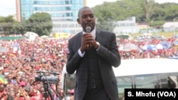 Mutungamiri weMovement for Democratic Change (MDC) VaNelson Chamisa