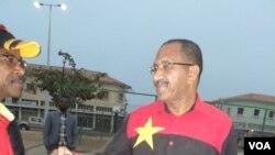 João Guerra adminsitrador municipal e primeiro secretário do MPLA