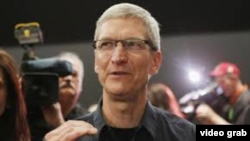 Tim Cook, presidente y director ejecutivo de Apple Inc.
