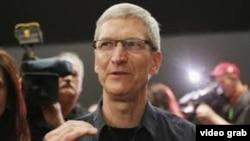 Tim Cook, presidente y director ejecutivo de Apple Inc.
