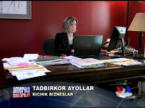 AQShning tadbirkor ayollari bilan suhbat/Women owned businesses
