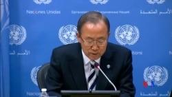 2014-09-17 美國之音視頻新聞: 聯合國動員全世界共同努力抗擊伊波拉