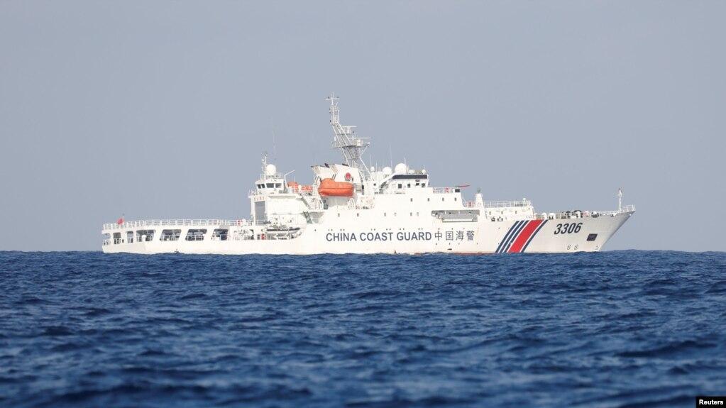 Một tàu tuần tra của Lực lượng Tuần duyên Trung Quốc.