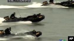 南韓軍隊重演朝鮮戰爭仁川登陸