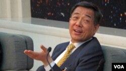 中共前高官中共中央政治局委员薄熙来(资料照片 美国之音张楠)