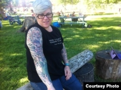 Melissa Thomas picked her tattoos carefully. They all relate to something in her life.