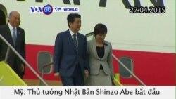 Thủ tướng Nhật bắt đầu chuyến công du Hoa Kỳ (VOA60)