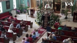 Як у вашингтонській церкві навчають підростаюче покоління традиціям українського Великодня. Відео