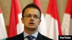 Министр иностранных дел Венгрии Петер Сиярто